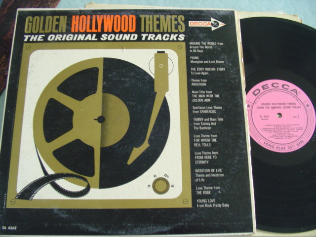 GOLDEN HOLLYWOOD THEMES - DECCA DL 4362 MONO