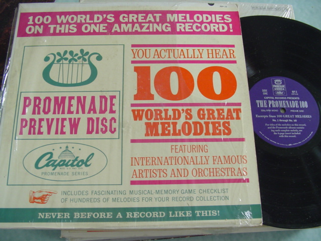 100 WORLD'S GREAT MELODIES - CAPITOL NP-3