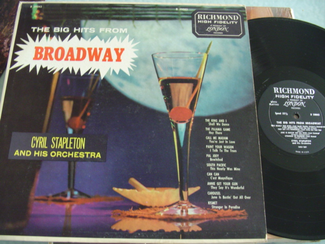 CYRIL STALELTON - BROADWAY - RICHMOND MONO