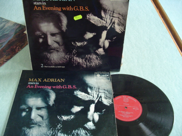 MAX ADRIAN - EVENING WITH G.B.S - MFP 2 DISCS
