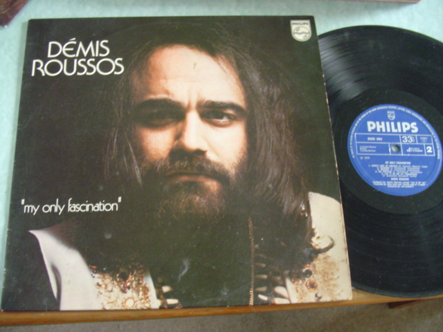 DEMIS ROUSSOS - MY ONLY FASCINATION - PHILIPS