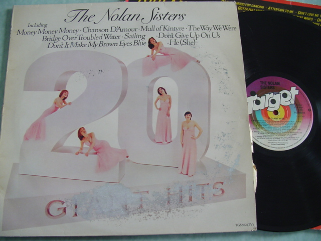 NOLAN SISTERS - 20 GIANT HITS - TARGET 1978