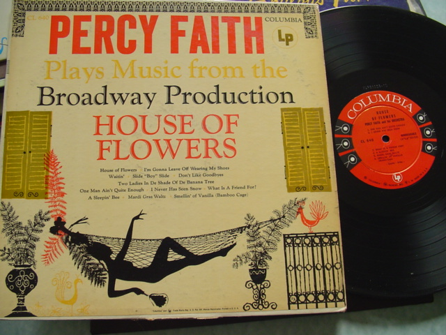 PERCY FAITH - PLAYS HOUSE OF FLOWERS - COLUMBIA