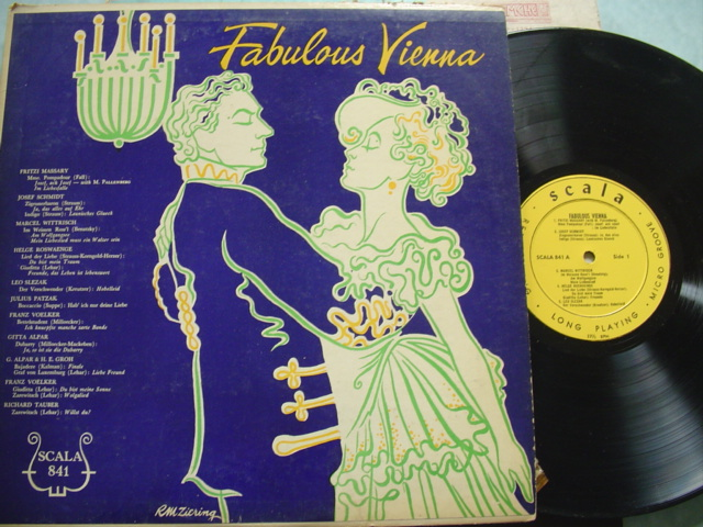 VARIOUS - FABULOUS VIENNA - SCALA RECORDS