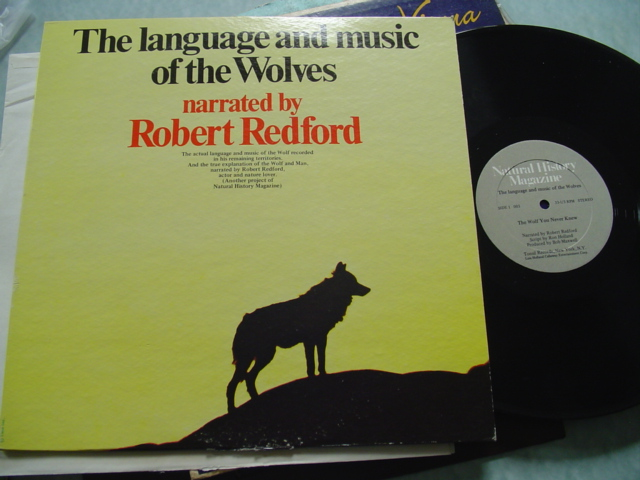 ROBERT REDFORD - LANGUAGE OF THE WOLVES - TONSIL