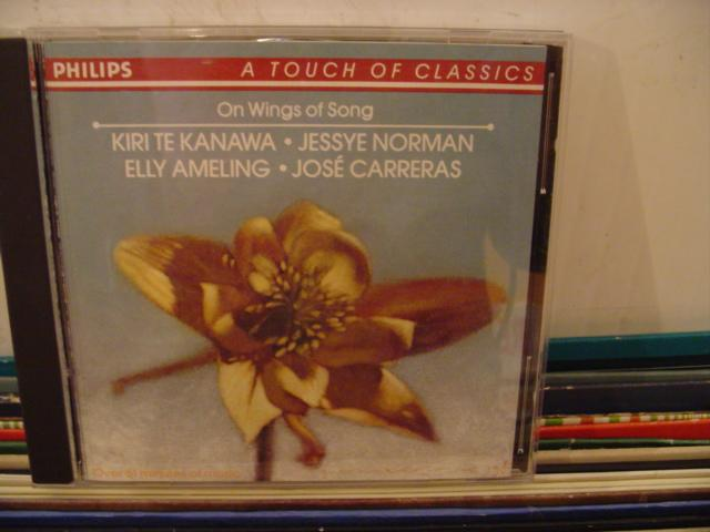 KIRI TE KANAWA - NORMAN , CARRERAS - WINGS OF SONG - CD 9