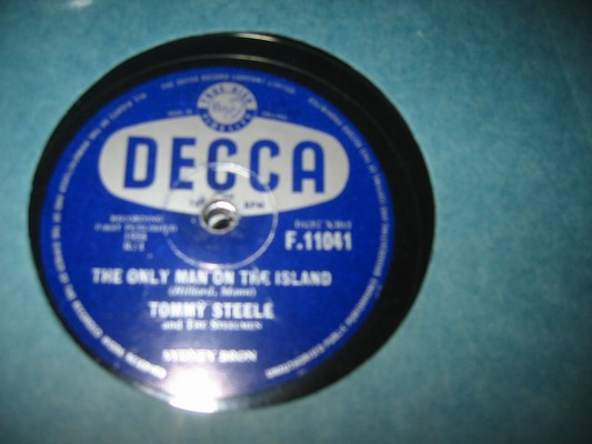 TOMMY STEELE - HEY YOU - DECCA RARE 78 rpm