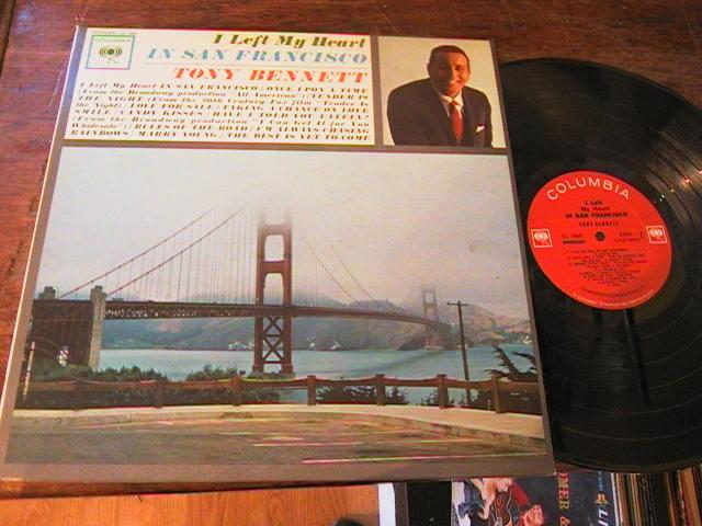 TONY BENNETT - LEFT HEART IN SAN FRANCISCO - COLUMBIA - M 84