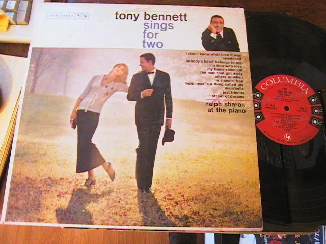 TONY BENNETT - SINGS FOR TWO - COLUMBIA - M 79