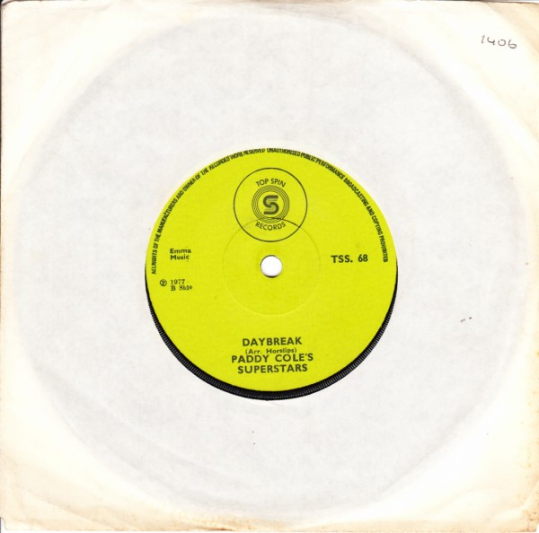 Record Label - Top Spin Record