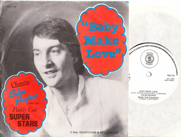Colm Hughes & Paddy Cole Superstars - 1980 - Top Spin