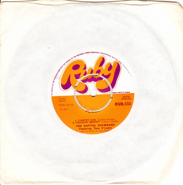 RUB 133 - CAPITOL SHOWBAND Tony O'Leary - RUBY
