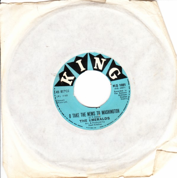 The Emeralds - King Records 1968 - KG 1081