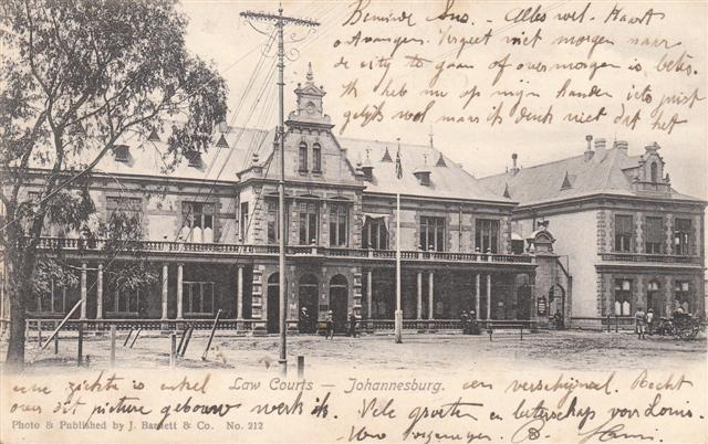 LAW COURTS - JOHANNESBURG - 1905