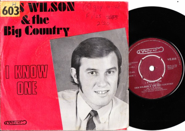 Velvet Records 016 - Des Wilson & Big Country -