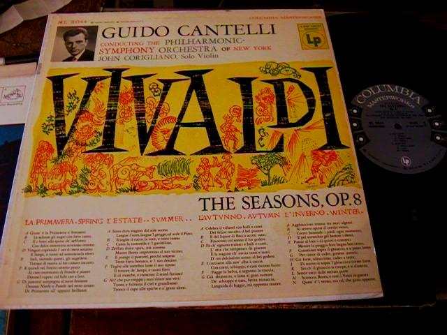 VIVALDI - 4 SEASONS - CORIGLIANO VIOLIN - COLUMBIA