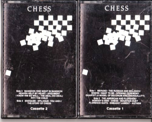 Chess - Benny Anderson Tim Rice - RCA 2 TAPES