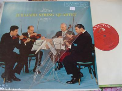 DEBUSSY RAVEL - QUARTETS - JUILLIARD QUARTET - RCA
