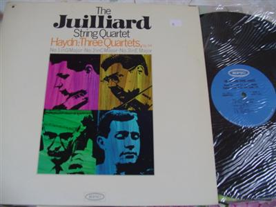 HAYDN - THREE QUARTETS - JUILLIARD QUARTET - EPIC MONO