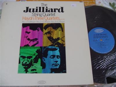 HAYDN - THREE QUARTETS - JUILLIARD QUARTET EPIC