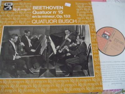 BEETHOVEN - QUARTET No 15 - BUSCH QUARTET