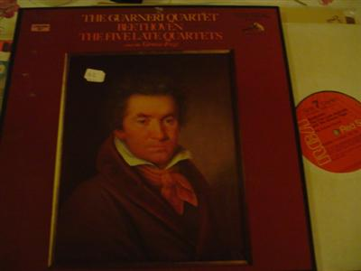 BEETHOVEN - 5 LATE QUARTETS - GUARNERI QUARTET RCA 4 LP