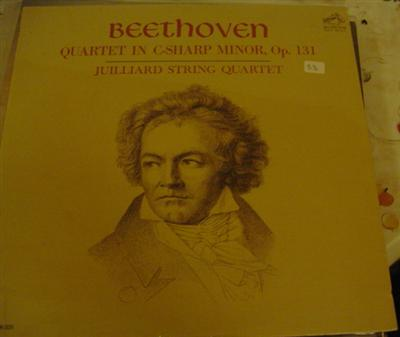 BEETHOVEN QUARTET C SHARP - JUILLIARD RCA SEALED