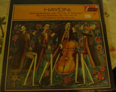 HAYDN - QUARTET OP 76 - HUNGARIAN - TURNABOUT SEALED