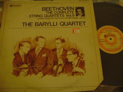 BEETHOVEN - QUARTET vol 9 - BARYLLI QUARTET