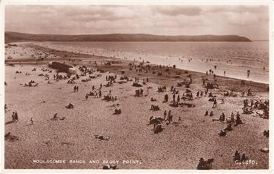 Woolacombe Sands & Baggy Point - Real Photo
