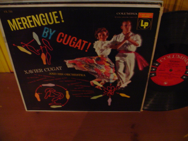XAVIER CUGAT - MERENGUE - COLUMBIA 6 EYE - L 18