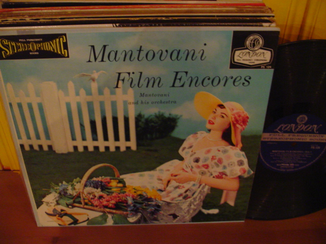 MANTOVANI - FILM ENCORE - LONDON ffss - lL 23