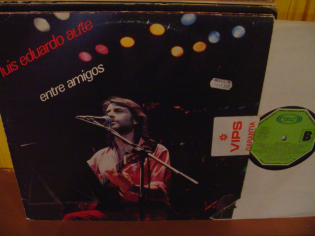 LUIS EDUARDO AUTE - ENTRE AMIGOS - 2 LP - MOVIE PLAY - L 25