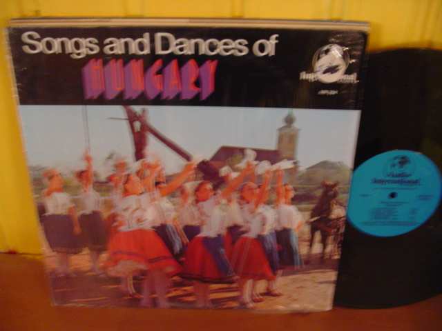HUNGARY - SONGS & DANCES - AUDIO INTER - W 28