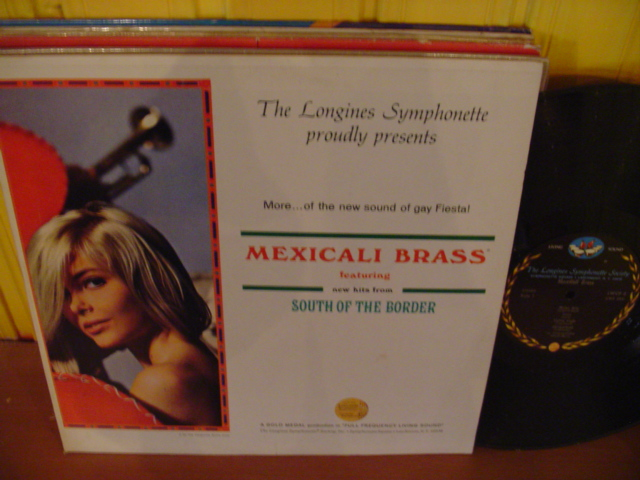 MEXICALI BRASS - SOUTH OF BORDER - LONGINES - W 54