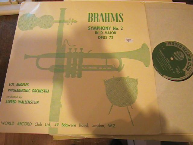 BRAHMS - SYMPH No 2 - A WALLENSTEIN - R 1765