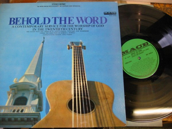 The Apage - Behold The Word - Christian { 1960/70Ss USA }