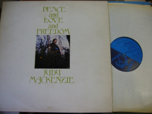 Judy Mackenzie - Peace Love Freedon Key { Christian 1971 UK }