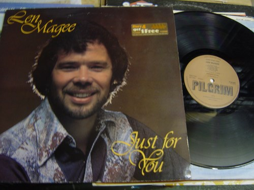 Len Magee - Just for you - Pilgrim Records { Christian 1979}