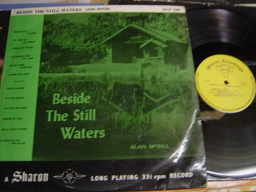Alan McGill - Beside still Waters - Sharon Records 1960s