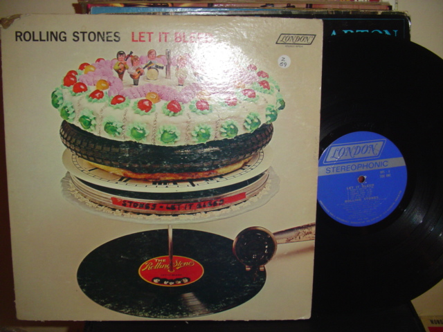 ROLLING STONES - LET IT BLEED - LONDON { Z 59