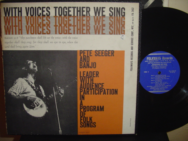 PETE SEEGER - TOGETHER WE SING - FOLKWAYS { Z 46